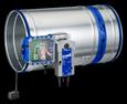 FKR-EU mit Belimo-Federrücklaufantrieb und TROXNETCOM Stutzenausführung