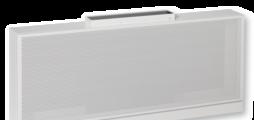 Прямоугольный корпус, подача воздуха в одном направлении, для зон комфорта