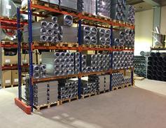 Et lille udpluk af TROX produkter lagerført hos Ørbæk Ventilation