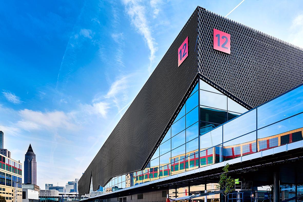 Frankfurt Messehalle 12 Außenansicht