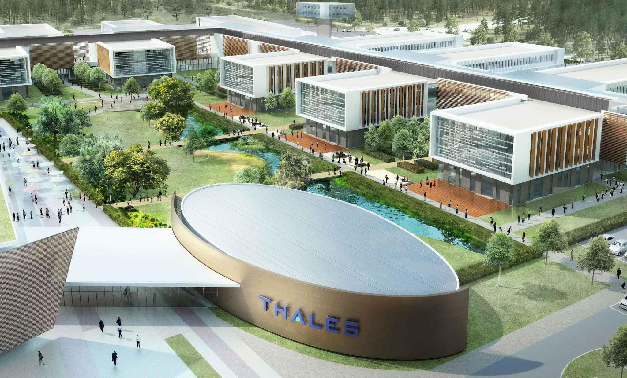 Gupo Thales especializado en aeronáutica, defensa y tecnología de la información