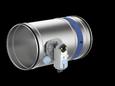 FKR-EU mit Siemens-Federrücklaufantrieb Stutzenausführung
