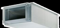 Pour l'atténuation du bruit du flux d'air des unités terminales typesTVZ, TVA, TZ-Silenzio, TA-Silenzio ou TVM
