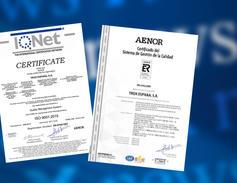Certificación Calidad ISO 9001:2015
