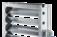 Jalouziekleppen van aluminium voor het inregelen en afsluiten van luchttechnische installaties