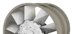 Axiální ventilátory s přímým pohonem pro běžné větrání