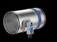 FKR-EU mit Belimo-Federrücklaufantrieb Stutzenausführung