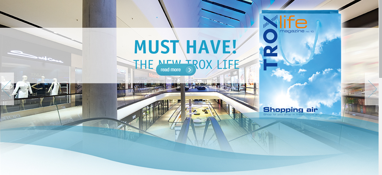 TROX LIFE Magazine . Shopping Air