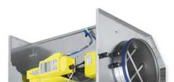 For the control of variable air volume flows in potentially explosive atmospheres (ATEX)