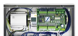 System for controlling and monitoring motorised fire dampers