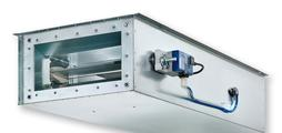 For extract air systems with demanding acoustic requirements and low airflow velocities